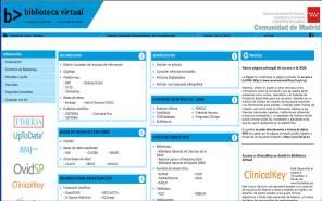 Biblioteca Virtual de la Consejería de Sanidad de la Comunidad de Madrid