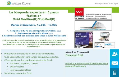 POSTER_Formacion Ovid_Webex_Usuarios_CSM_3DIC