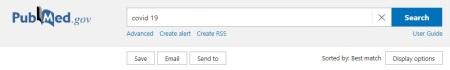 Save SentTo PubMed